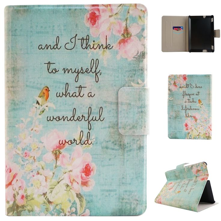 Folio-Flip-For-Amazon-Kindle-HDX7-Paperwhite-2-Stand-Leather-Wallet-Case-Cover
