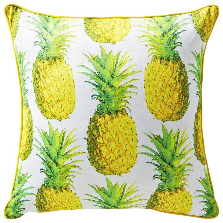 Rapee Pineapple Cushion in Zest