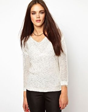 River Island Sequin Jumper