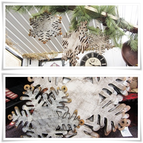 Wooden Snowflakes! :)