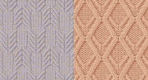 Két egyszerű és mutatós kötés minta | Kötni jó - kötés, horgolás leírások, minták, sémarajzok