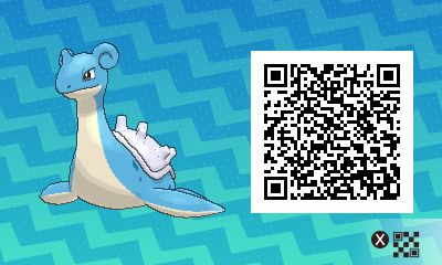 Lapras PLEASE FOLLOW ME FOR MORE DAILY NEWS ABOUT GAME POKÉMON SUN AND MOON. SIGA PARA MAIS NOVIDADES DIÁRIAS SOBRE O GAME POKÉMON SUN AND MOON.   Game qr code Sun and moon código qr sol e lua Pokémon Nintendo jogos 3ds games gamingposts caulofduty gaming gamer relatable Pokémon Go Pokemon XY Pokémon Oras