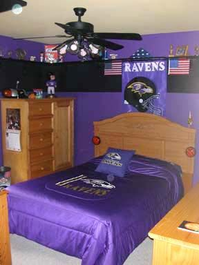 baltimore ravens room decor teen boys baltimore ravens room ideas interior exterior design