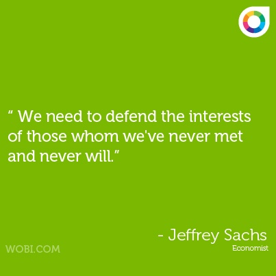 Jeffrey Sachs quote on #sustainability