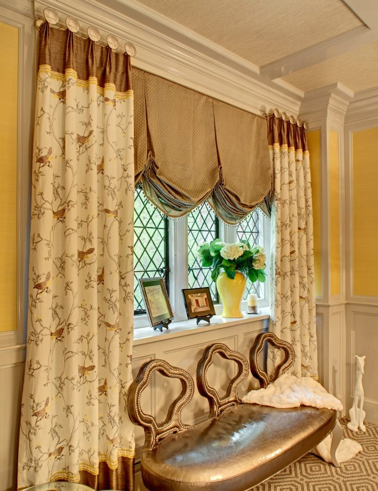 The firm that I work for, our designer showhouse room: Lady Allen's Bower: Designer Home Office at Mansion in May in Morristown, NJ 2012