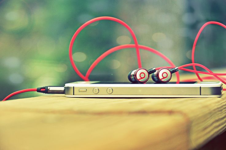 Phone And Earbuds