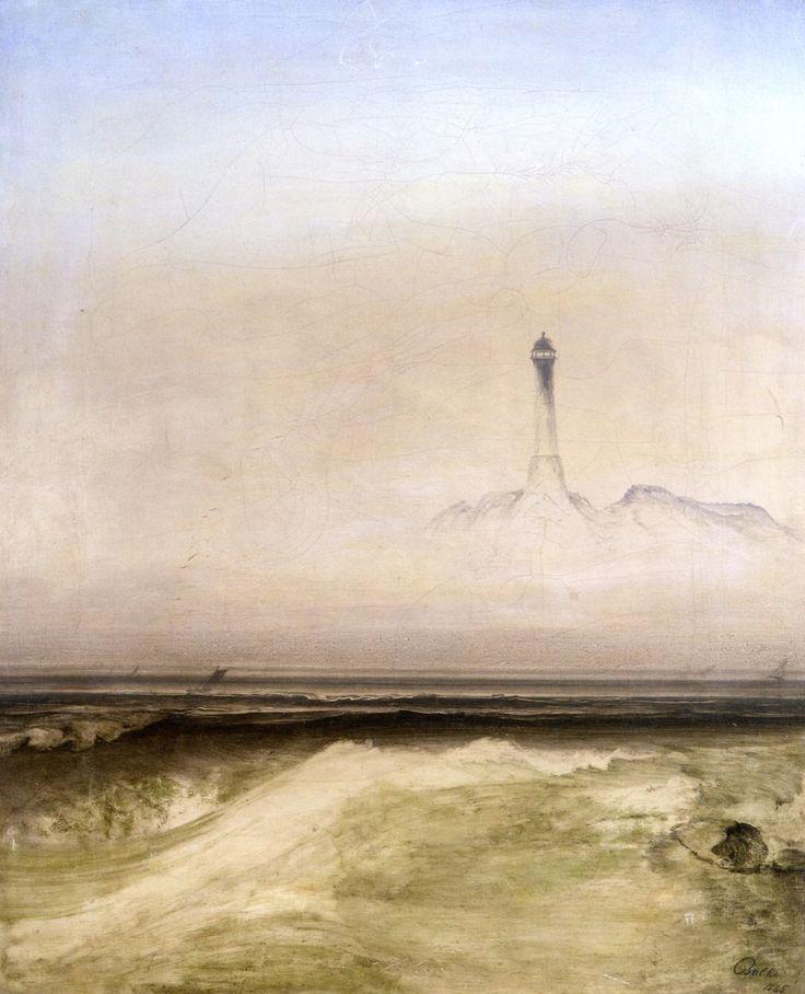 The Athenaeum - Lighthouse in Mist (Peder Balke - )