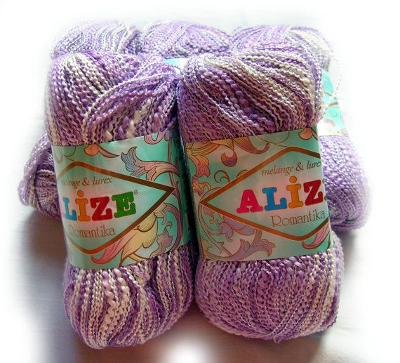Yarn Supply : Yarn supply: Alize Romantika batik yarn. Hypoallergenic multicolor ya ...