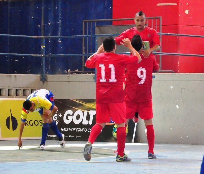 Ind. Barranquilla empezó goleando en la #LigaArgosFutsal. Apabulló 8-1 a Depor Cartagena. #FútbolRevolucionado #ElfutsalEsNuestro