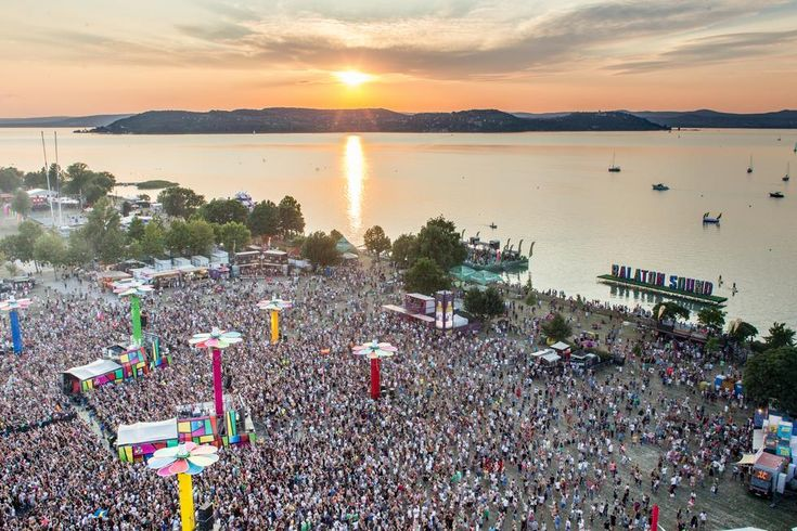 Balaton Sound Festival 2016 is one of Europe's largest open air electronic music festivals. Held annually since 2007 on the southern bank of Lake Balaton, Hungary, it features live acts and DJ's from all around the world, from established artists to new names. The event was co-created by the organizers of Sziget Festival. As the festival gets more famous and popular each year, tickets are usually sold out before they go on sale at the official ticket vendors.