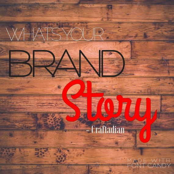 Stand out with your Brand  Brand Marketing  Etsy by craftadian