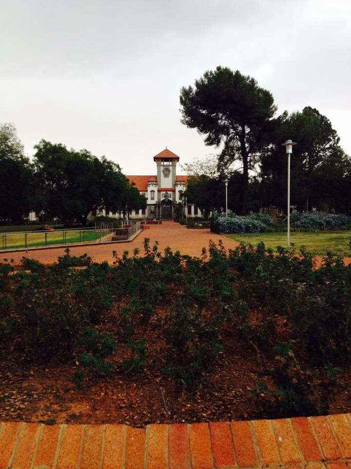 University of the Free State (UFS) #UFStoday - Bloemfontein Campus (Submitted on 13 February 2016 by @VuneneKhosa)
