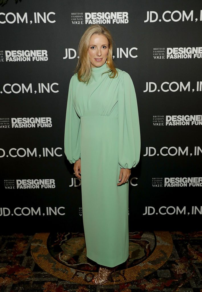 London England September 17 Stephanie Phair Attends The Bfc Vogue Designer Fashion Fund In Partnership With Jd Com Inc China S Largest Retailer With A C