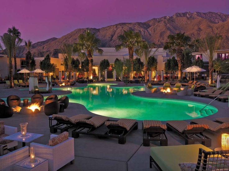 Riviera Hotel in Palm Springs.