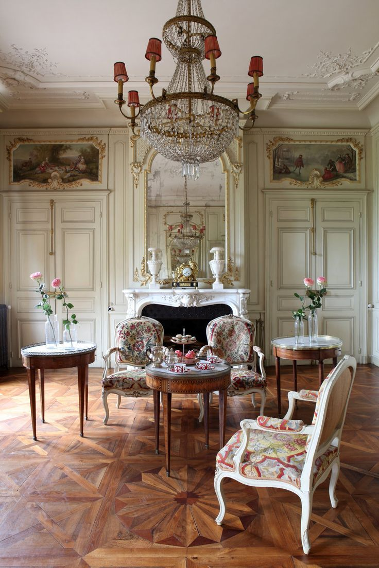 Elegant Living And Dining Room Ideas: 339 Best Images About Chateau Rooms On Pinterest