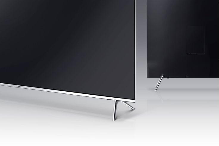 A back angle image of Samsung SUHD TV