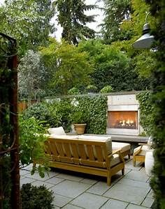 Kate Presents: Outdoor fireplace for a small garden