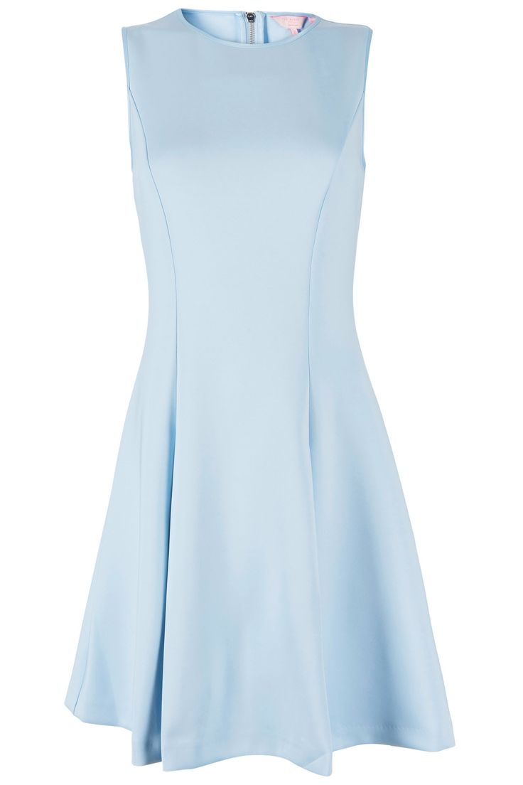 Lichtblauwe jurk
