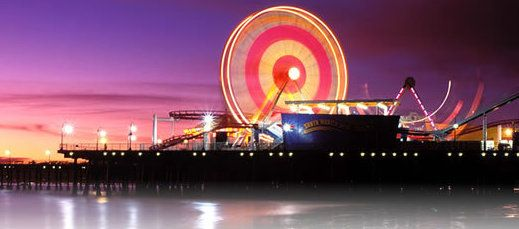 Nothing like a stroll on the Santa Monica Pier.