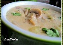 Žampionovo-bramborová polévka