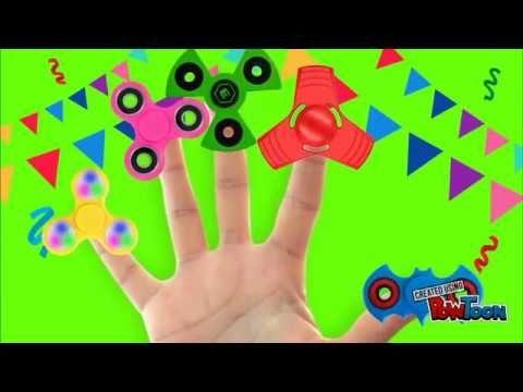 Fidget Spinner Family Finger - Kids Songs MG