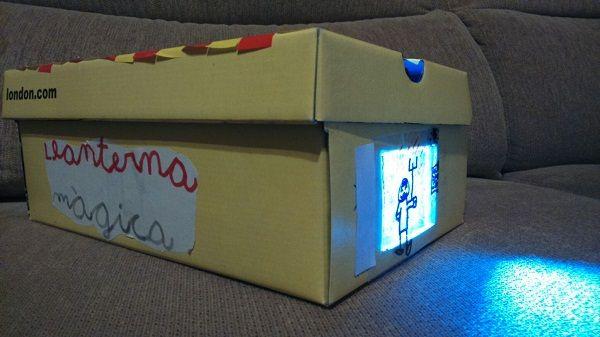 La capsa de la llanterna màgica