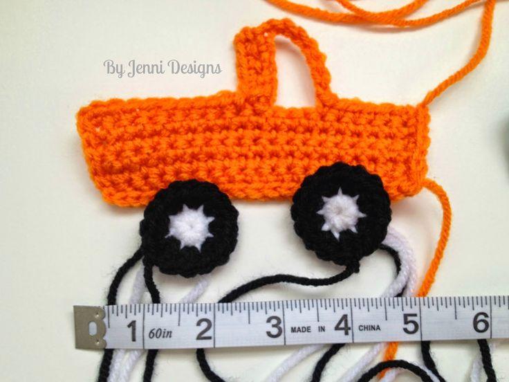 By Jenni Designs: Free Crochet Pattern: Pick-Up Truck Applique