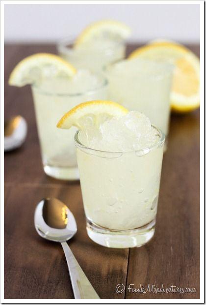 Vodka Lemonade Slush | The Marvelous Misadventures of a Foodie