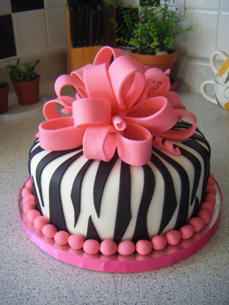Best 25 Pink zebra cakes ideas on Pinterest Zebra print cakes