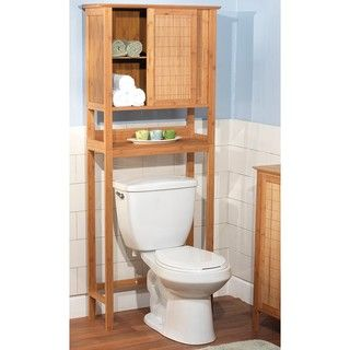 Found it!!!  This will be perfect in my bathroom!! Bamboo Space Saver | Overstock.com