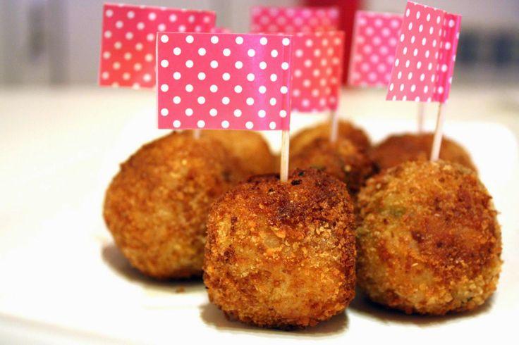 NidoCooking: Polpette di risotto - boulettes apéritives au riso...