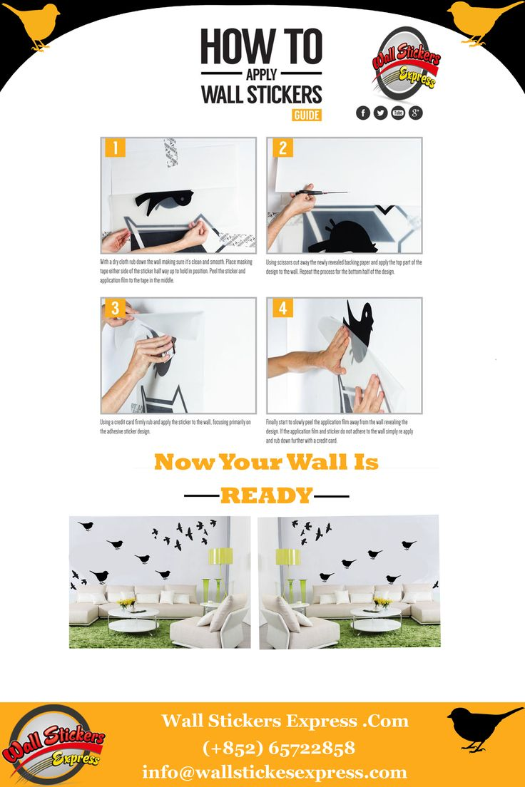 How to apply wall sticker quotes choice image home wall 73 best wall stickers express images on pinterest wall stickers office wall stickers by sophiajackson wall amipublicfo Image collections