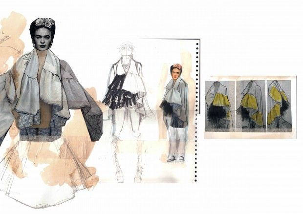 Fashion Sketchbook - fashion design development; fashion illustration; fashion portfolio // Tianyi Li