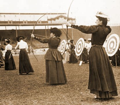 1908 Summer Olympics Women Archery (414×364)