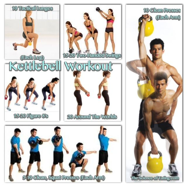 New Kettlebell Exercises For Your Workout Routine: 174 Best Health Is Wealth!!! Images On Pinterest