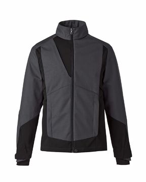 MEN'S3-LAYER LIGHT BONDED TWO-TONE SOFT SHELL JACKETS WITH HEAT REFLECT TECHNOLOGY