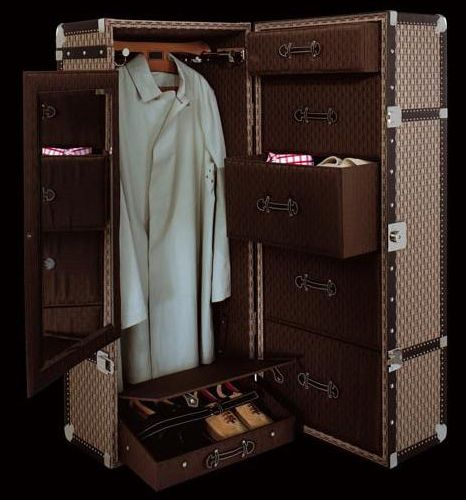 Steamer Trunk Wardrobe