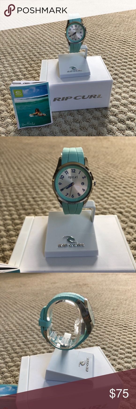 NWT Rip curl Ladies Watch NWT Excellent Condition, blue/green band, never worn Rip Curl Accessories Watches