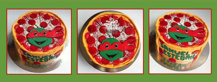 Ninja Turtle Cake Torta de Tortugas Ninja Ponque de Tortugas Ninja