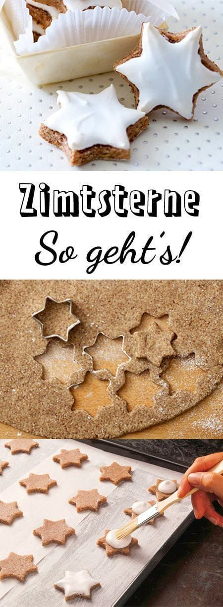 Zimtsterne recipe – so succeed the classic