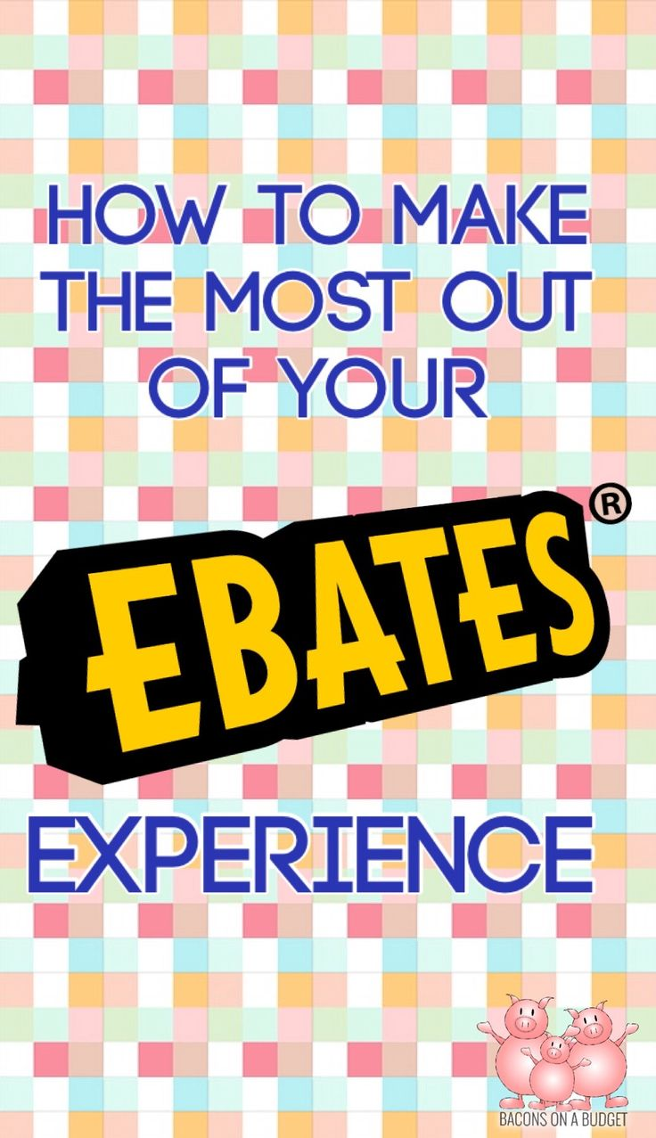 Tips and tricks on how to save the most money by using Ebates to get cash back on all your online purchases!