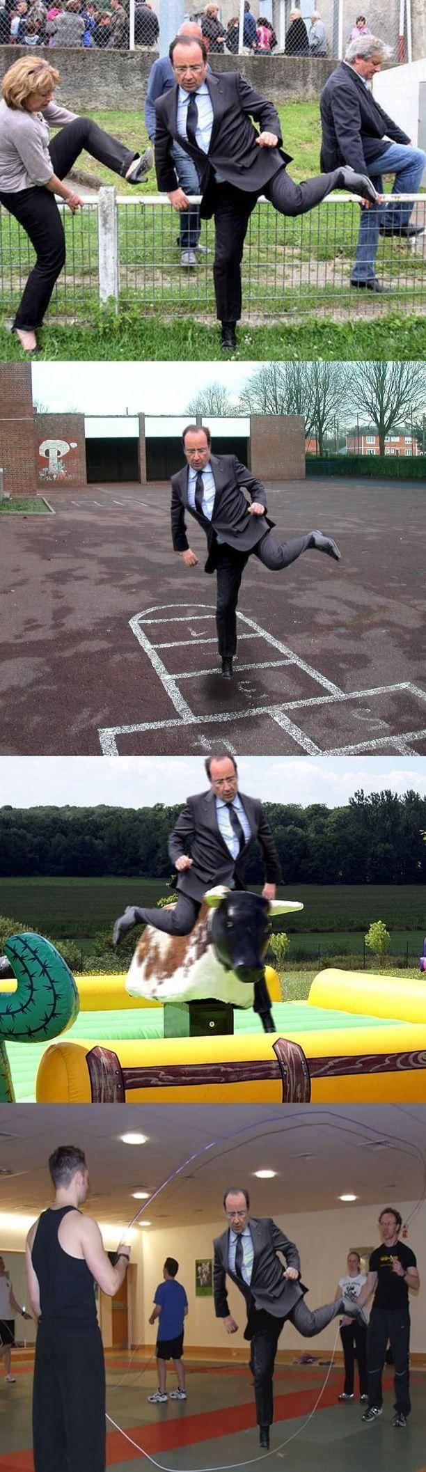 Francois Hollande feeling the quiche | 6Q4U