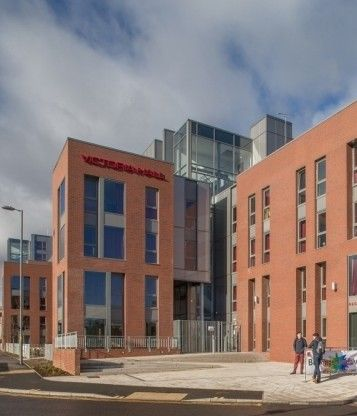 Building of a £13.25 million student accommodation project in Birmingham has been completed by Clegg Construction.