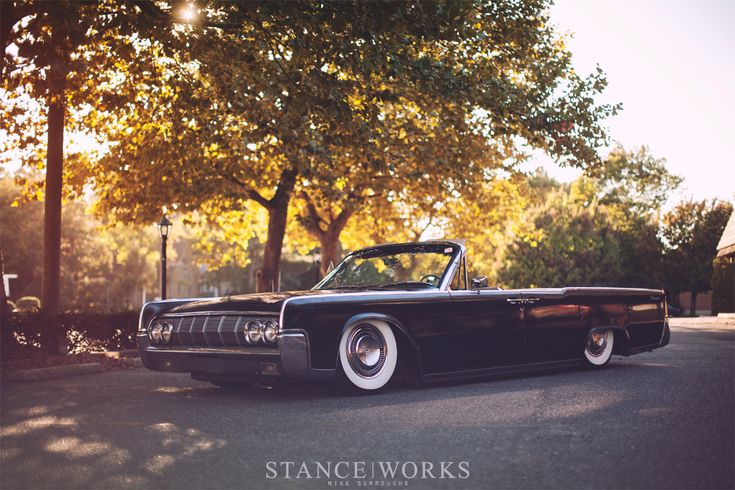 1964 air lift suspension bagged lincoln continetnal cars. Black Bedroom Furniture Sets. Home Design Ideas