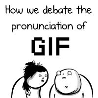 How we debate the pronunciation of GIF