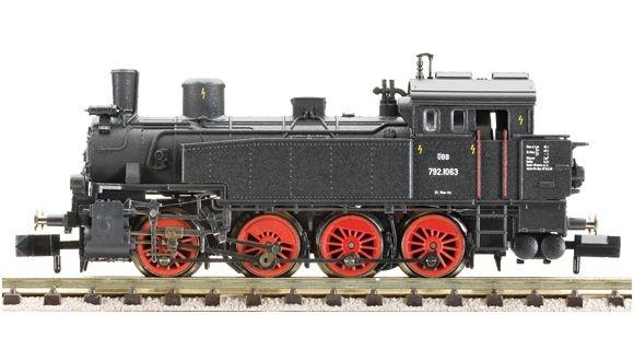 Dampflokomotive Reihe 792 (pr. T 13) der ÖBB.