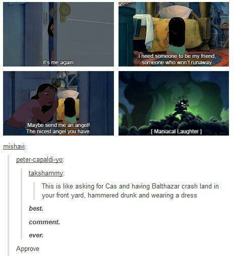 Supernatural/Disney amazing!