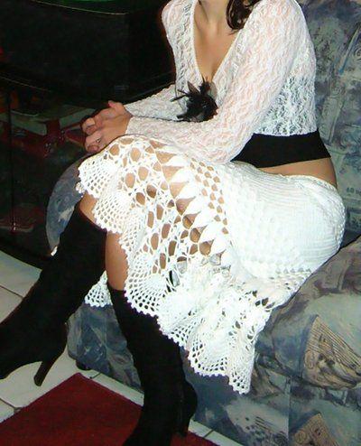 Стильная юбка крючком схемы. Юбочка от Patrizia Pepe | Я Хозяйка