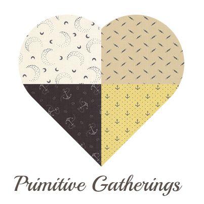 Yosonline Quiltstoffen / Quilt Fabrics - Primitive Gatherings