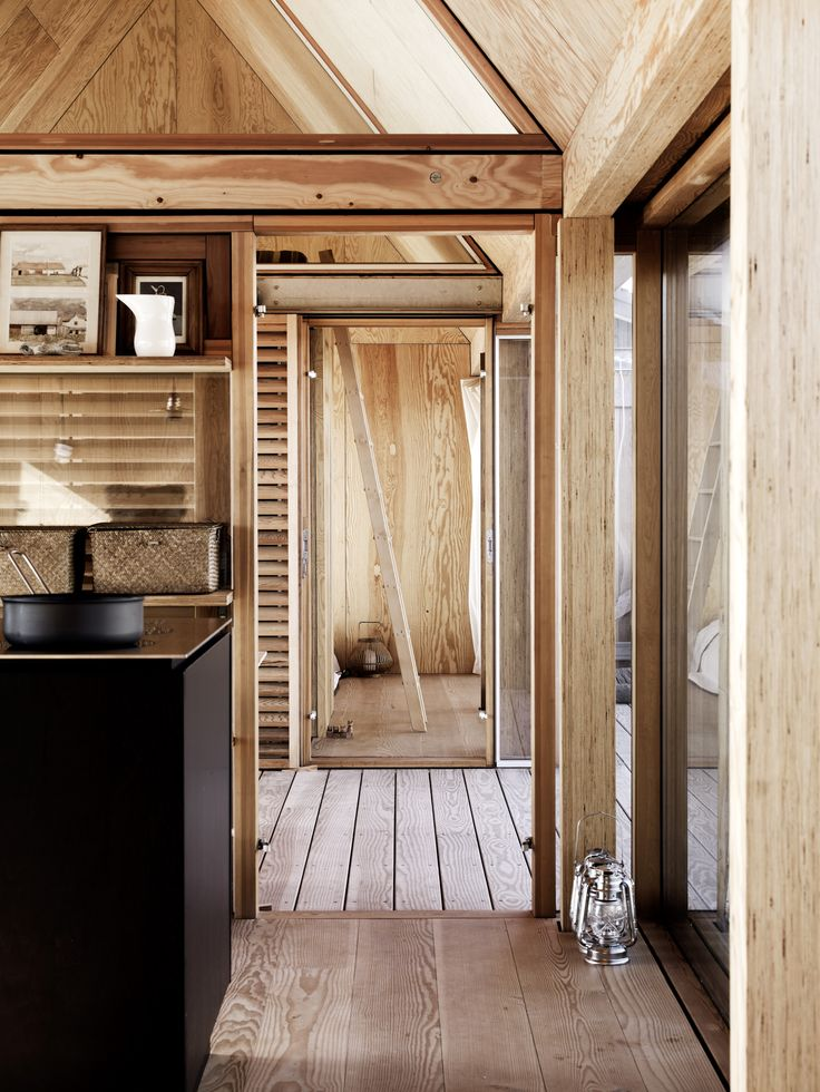 "Kinfolk LIfe on the Water in Denmark | H&H Blog Ladder to the ""attic"" style bedrooms"